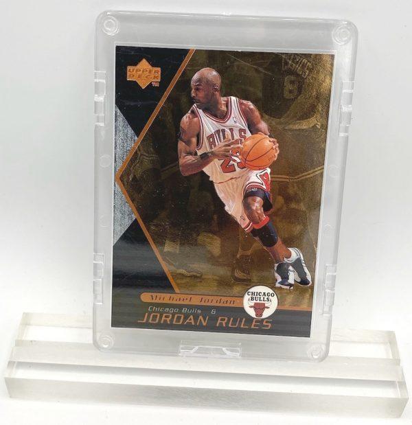 1998 Michael Jordan (JORDAN RULES-Upper Deck BRONZE CARD-#J5)=2pcs (1)