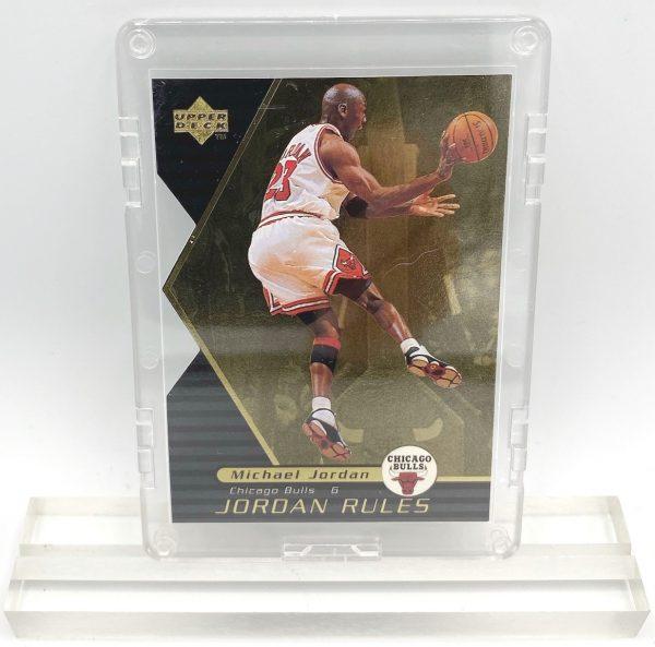1998 Michael Jordan (JORDAN RULES-Upper Deck GOLD CARD-#J11)=1pc (1)