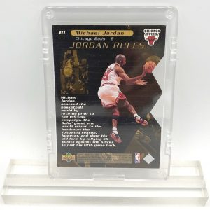 1998 Michael Jordan (JORDAN RULES-Upper Deck GOLD CARD-#J11)=1pc (2)