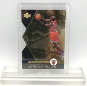 1998 Michael Jordan (JORDAN RULES-Upper Deck GOLD CARD-#J15)=1pc (2)