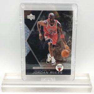 1998 Michael Jordan (JORDAN RULES-Upper Deck SILVER CARD-#J10)=2pcs (1)