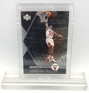 1998 Michael Jordan (JORDAN RULES-Upper Deck SILVER CARD-#J8)=1pc (1)