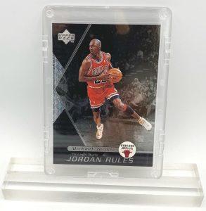 1998 Michael Jordan (JORDAN RULES-Upper Deck SILVER CARD-#J9)=1pc (1)