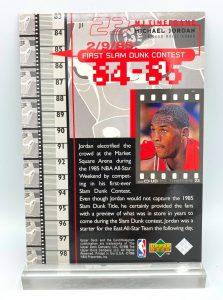 1998 Upper Deck 84-85 First Slam Dunk Contest (Michael Jordan) 5x7 (4)