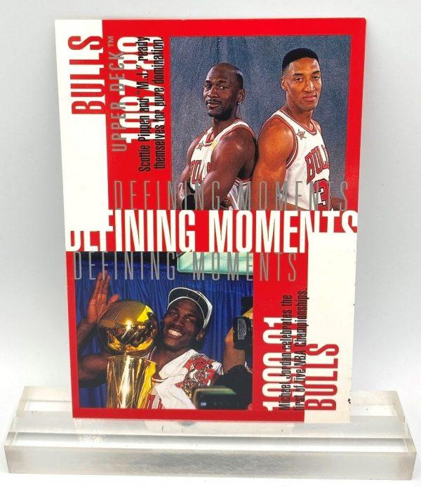 1998 Upper Deck Defining Moments (Michael Jordan) 3.5x5 (1pc) Card # D2 (1)