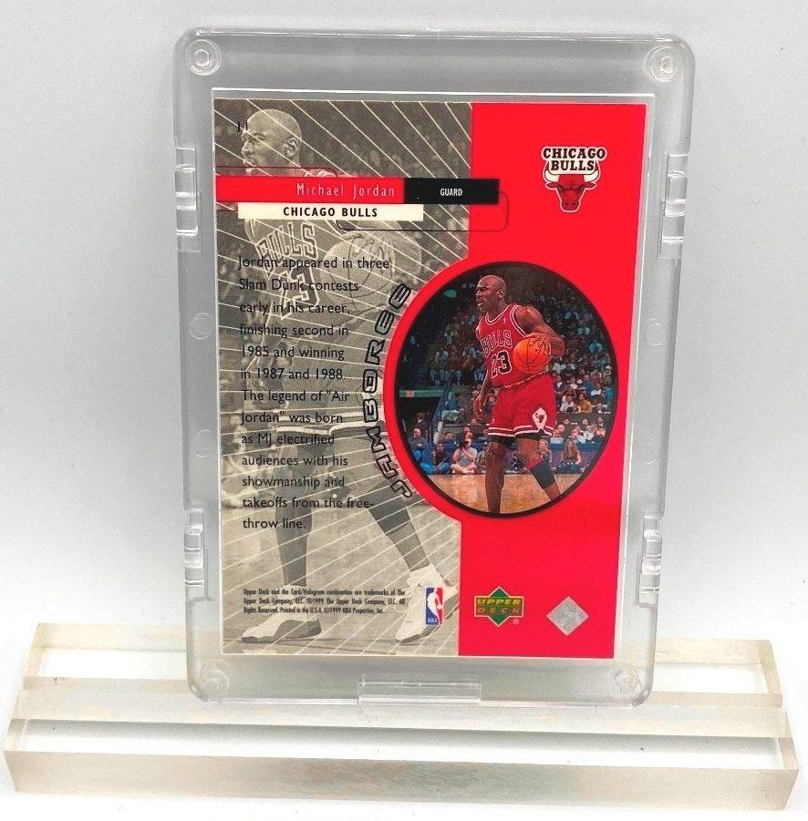 1999 Michael Jordan (Jamboree Upper Deck-Card #J1)=1pc (2)