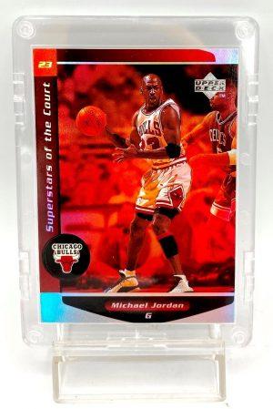 1999 Michael Jordan Upper Deck Ovation Superstars Of The Court Holo Card #C1 (4 pcs)A (1)