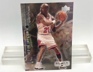 1999 Upper Deck Black Diamond (Michael Jordan Card #10) 3pcs (1)