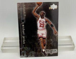 1999 Upper Deck Black Diamond (Michael Jordan Card #8) 2pcs (1)