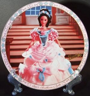 "BARBIE (""Enesco Limited Edition"" Collector Plates) ""RARE-Vintage"" (1996)"