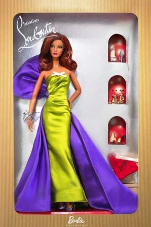 """Anemone Barbie (By Christian Louboutin Collector Limited Edition Series) """"Rare-Vintage"""" (2010)"""