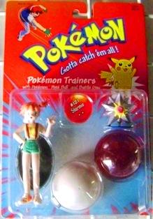 Hasbro Pokemon Trainers Misty with #121 Starmie